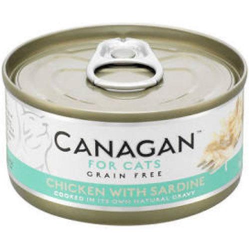 Canagan Cat Can Chicken x Sardine 75g