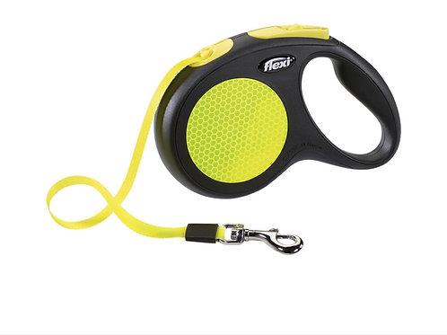 Flexi Neon Tape Leash MED 5m