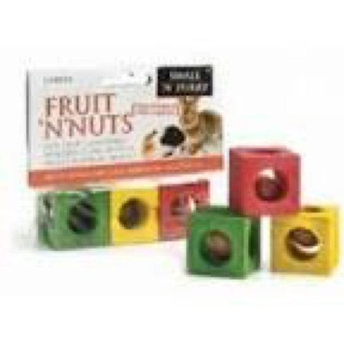 Colourful Wooden Chew Cubes