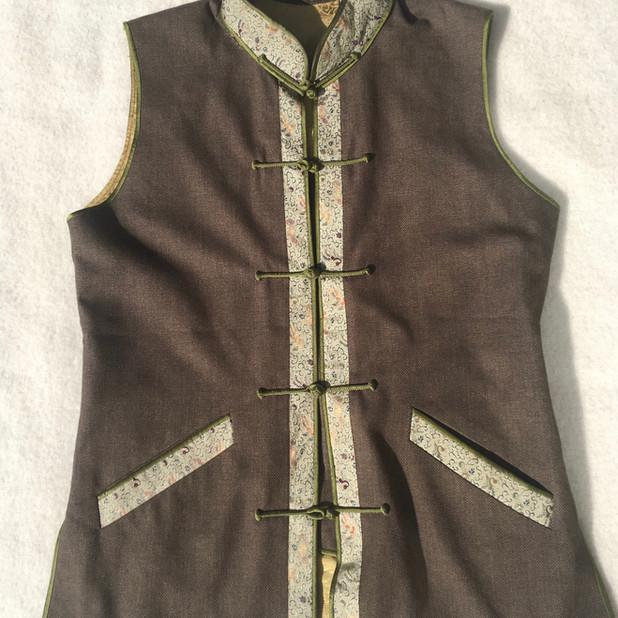 Short Sleeved Nehru Jacket