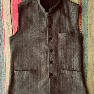 Khadi Nehru Jacket
