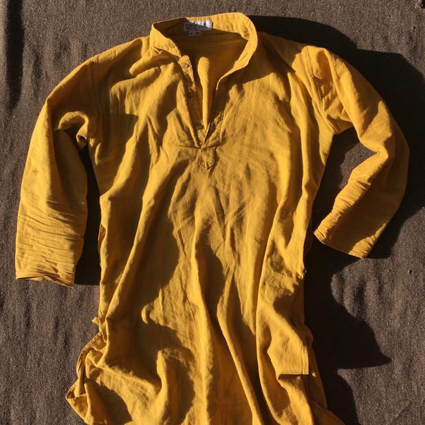 Tumeric Kurta Shirt