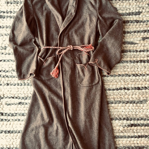 Woollen Dressing Gown