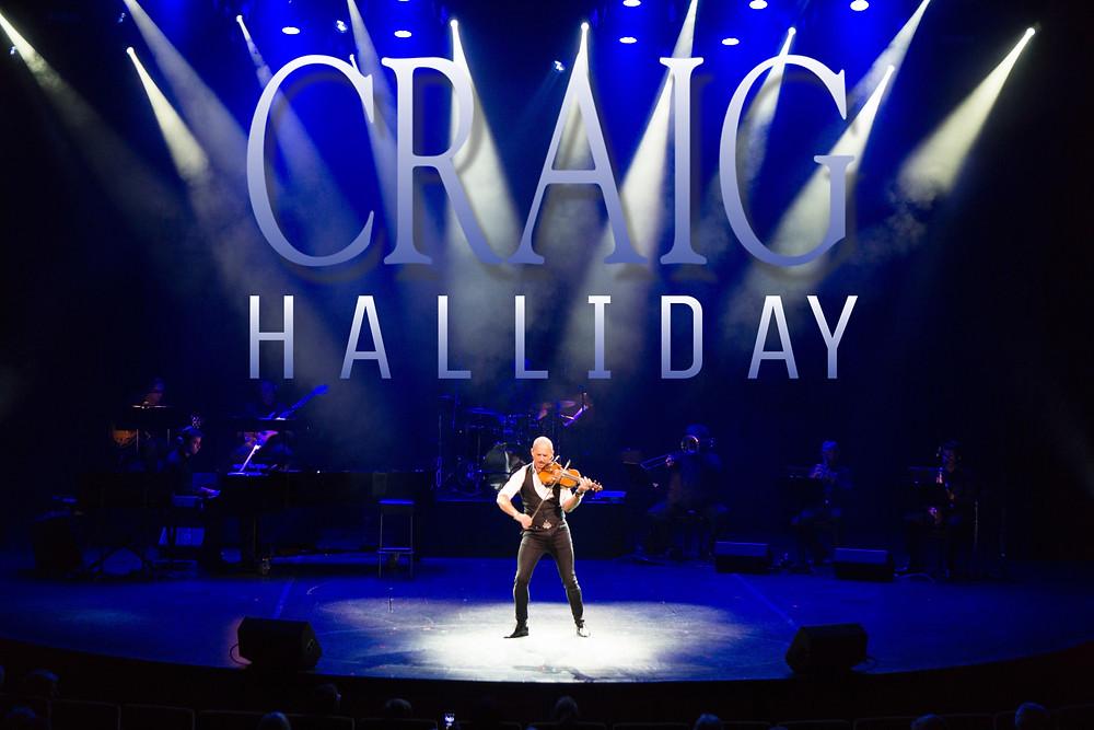 Craig on stage