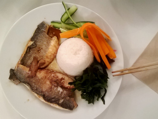 Japanese fish suppers
