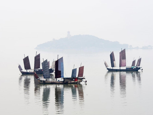 Fishing boats in Wuxi