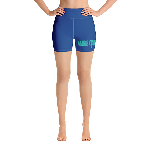 Uniquely FIT blue/green Shorts