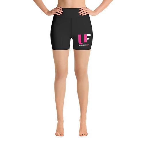 Uniquely FIT black/pink Shorts