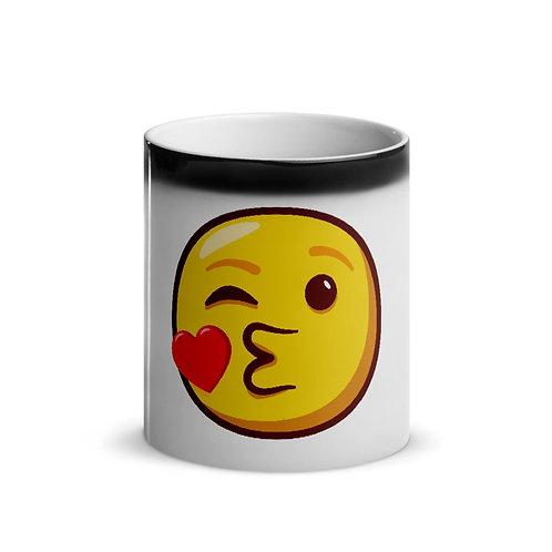 Kiss Emoji Magic Mug