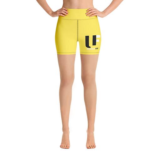 Uniquely FIT yellow/black Shorts