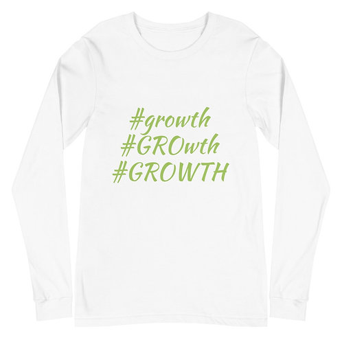#Growth Long Sleeve Shirt