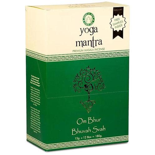 Wierook Masala Yoga Mantra