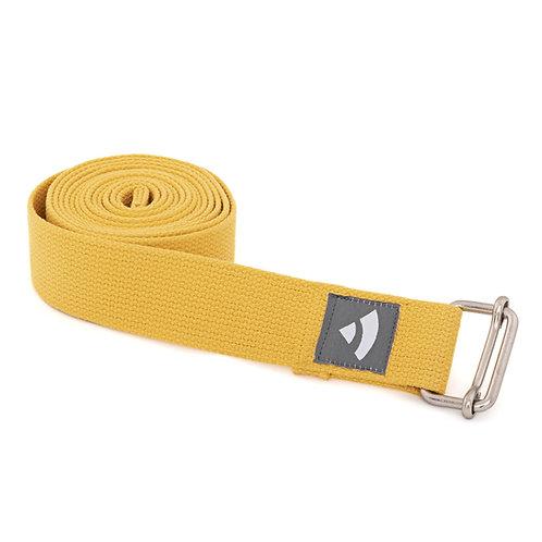 Bodhi Yoga strap - saffron