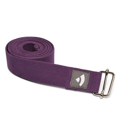 Bodhi Yoga strap - purple