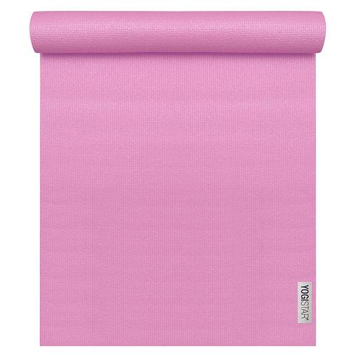 Yogistar Basic Yoga Mat - Rose (! de kleur is iets lichter in werkelijkheid)