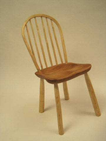 Bow Windsor Chair - Shaved finish-No undercarriage