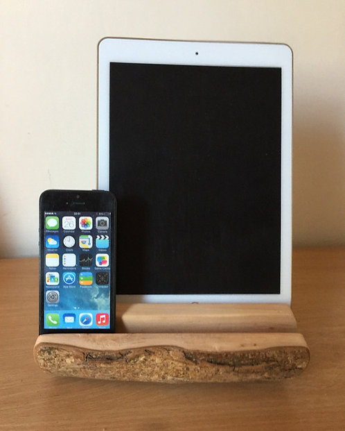 Branch iPad and phone dock.
