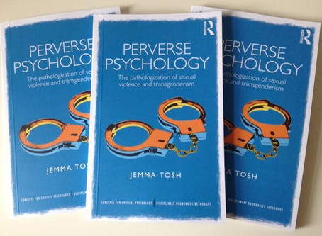 News: Psygentra Director's book shortlisted for BPS award!