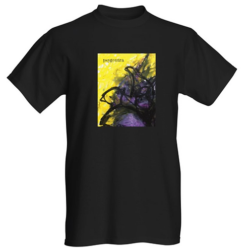 Loose Fit T-Shirt with Nonbinary Rose Artwork