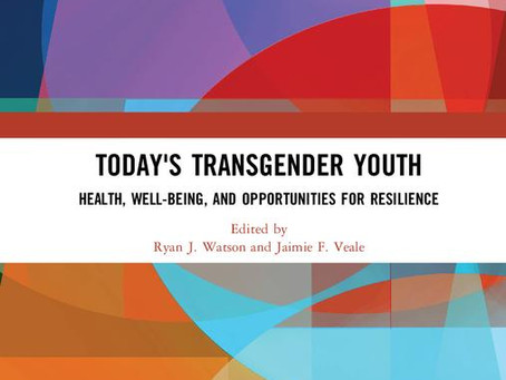 Deconstructing 'desistance': GIRES Award for journal commentary about trans youth