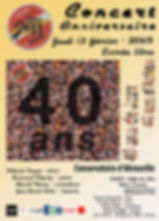 affiche_concert 40 ans-2020 Conservatoir