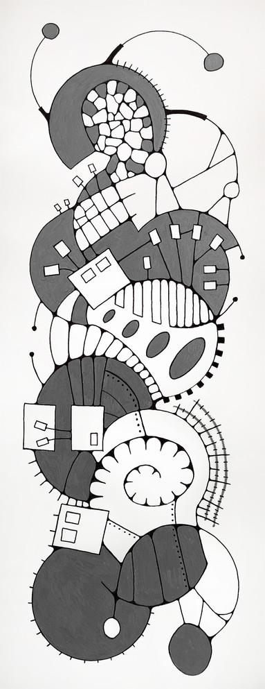 Large Tile Drawing 8