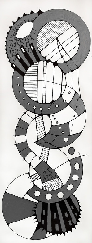 Large Tile Drawing 4