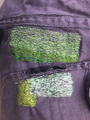 Japanese Repair Stitching