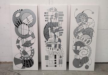 Large Tile Series 4, 8, 11