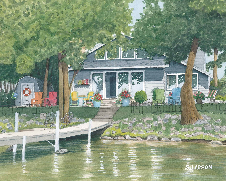 Sharon larson brothers lake home 8x10