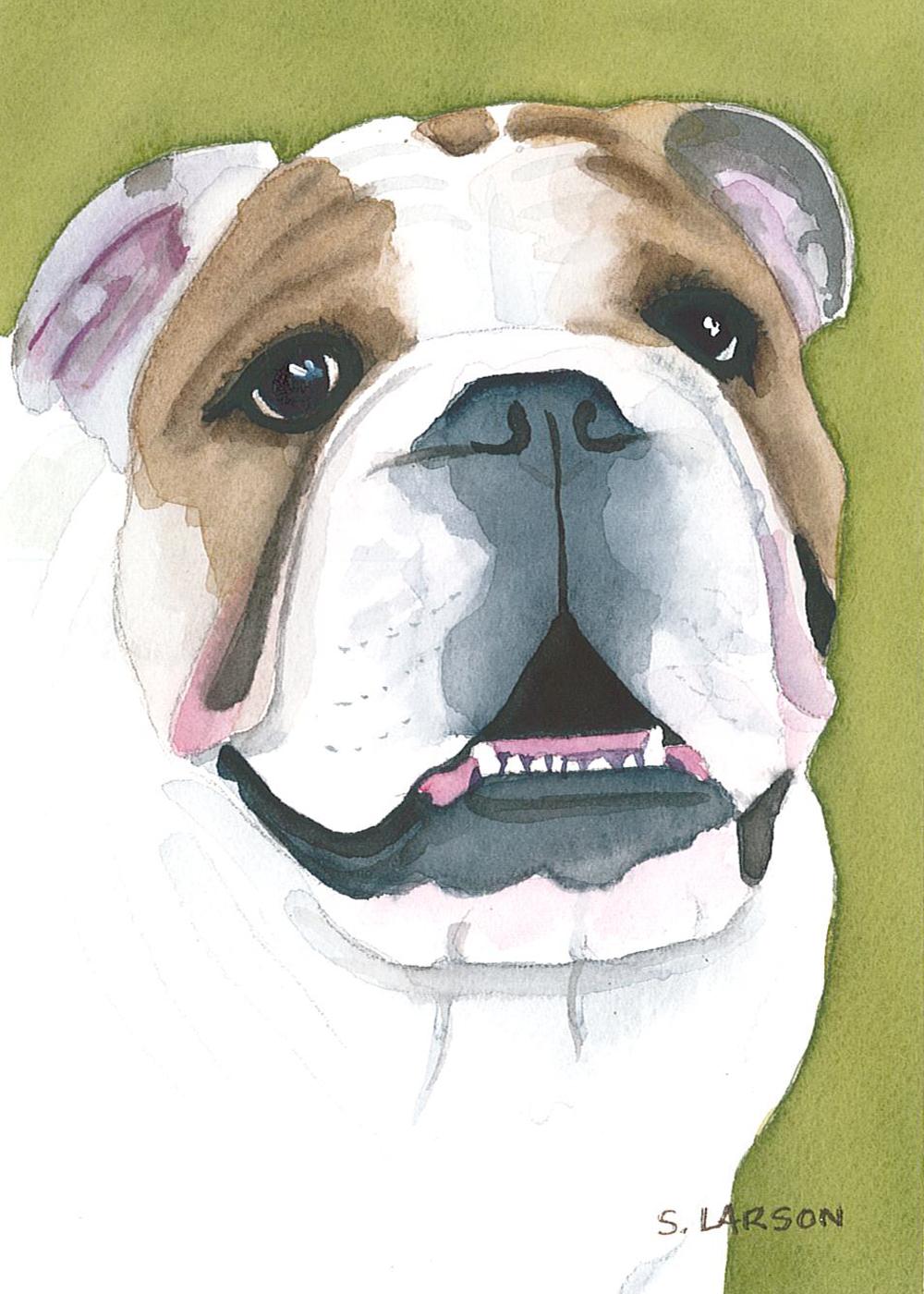 Sharon Larson Bulldog