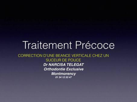 Orthodontie Précoce : Correction d'une Béance Verticale....