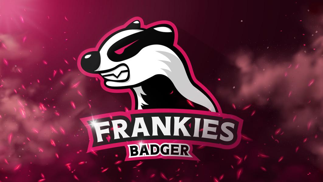 Logo en achtergrond design voor Twitch streamer Frankies Badger