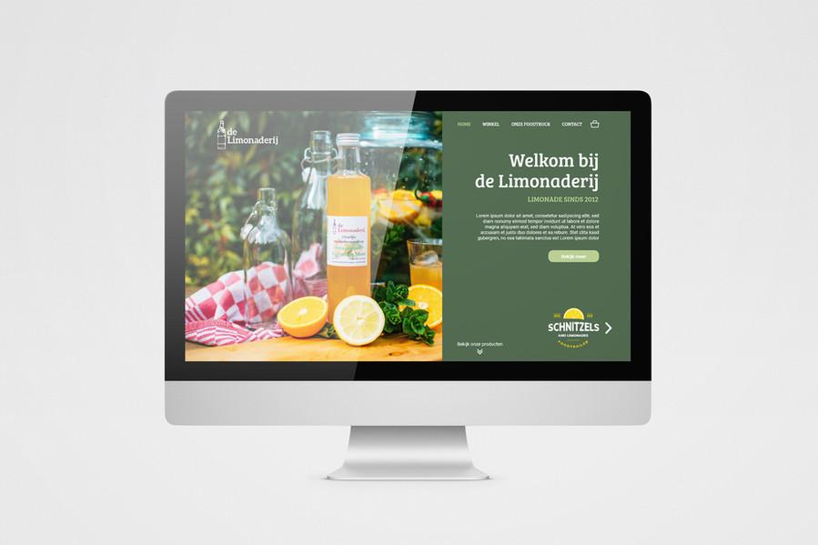 Webdesign voor de Limonaderij