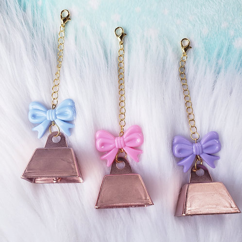 Lil Moo Cow Bell Charm