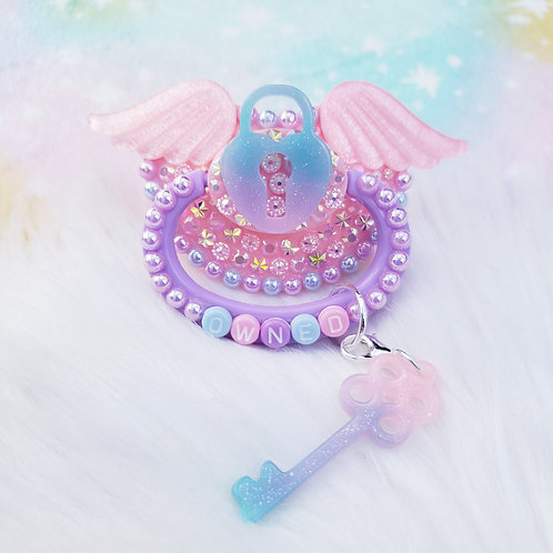 Pastel Owned w/ Wings and charm