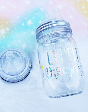 Little Dreamer Glass Bottle and/or Sippy