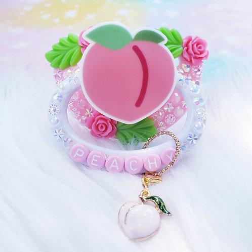 Peachy with Detachable Charm