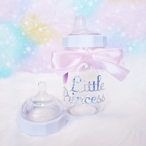 Little Princess Glass Sippy OR Bottle