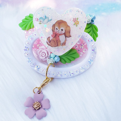Puppy Sparkles with Detachable Charm