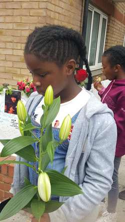 Visit to Grenfell Tower