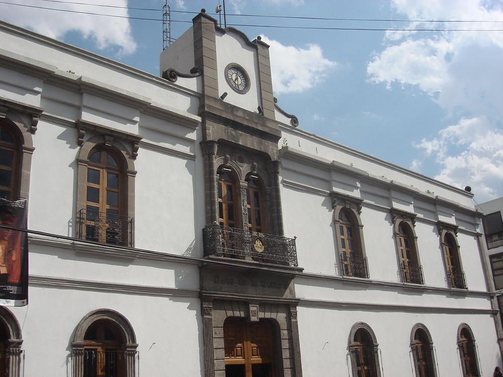 Casa de Cultura de Azcapotzalco por Laura Rojo.