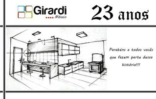 Girardi Móveis, 23 anos de história!!!!!!