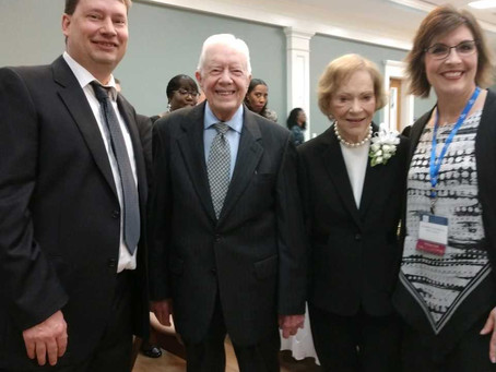 Former First Lady Rosalynn Carter Honors WNY Military Caregiver