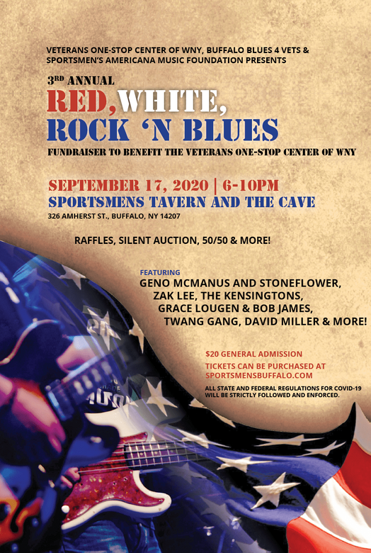 PNG 2020 Red, White, Rock N Blue Concert