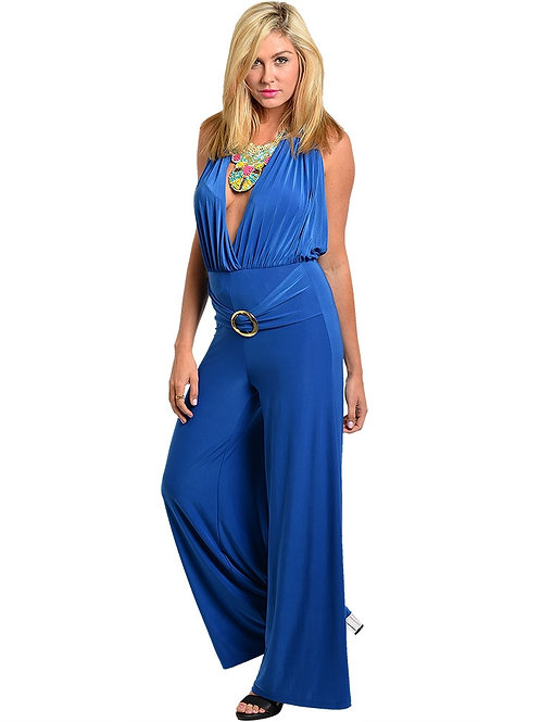 CHEEKY ROYAL ROMPER WITH BELT