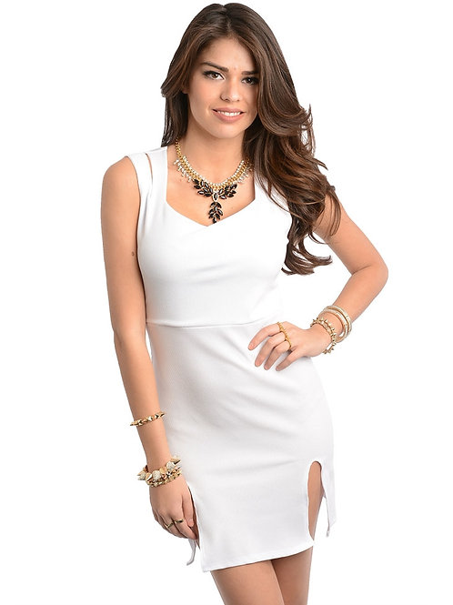 TRUE LIGHT WHITE DRESS