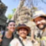 Alex - gua em português em angkor, siem reap, cambja