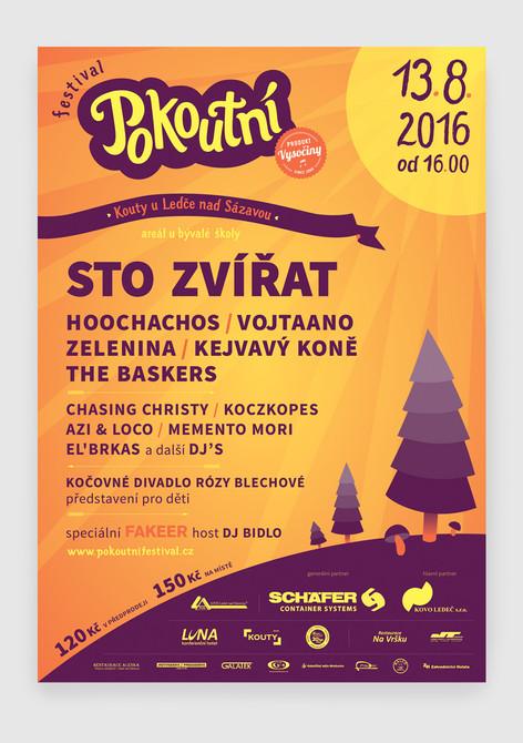 POKOUTNÍ FESTIVAL 2016