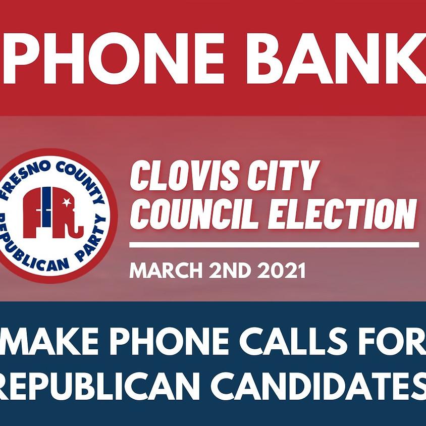 Clovis City Council Phone Bank